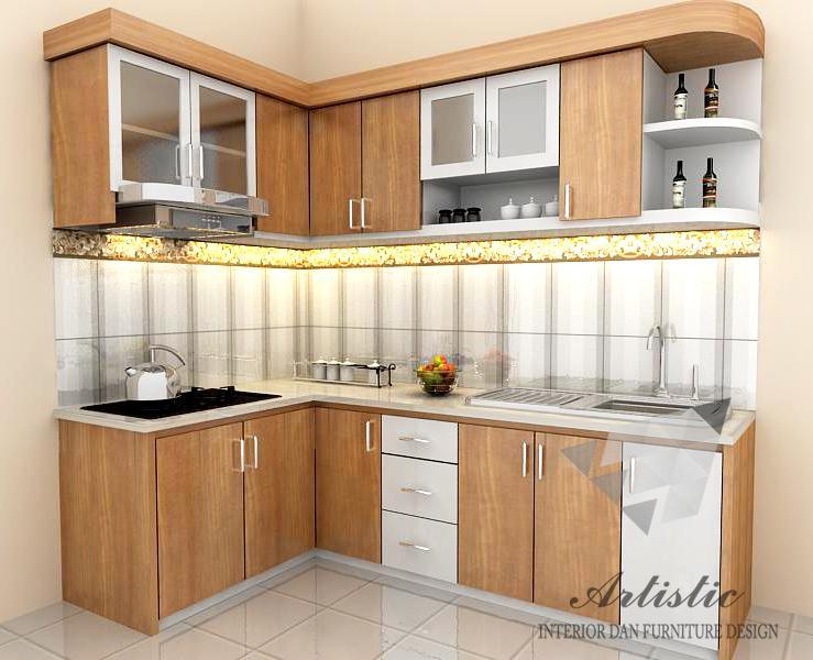 Kitchen Set Minimalis Untuk Dapur Kecil Desainrumahid Com