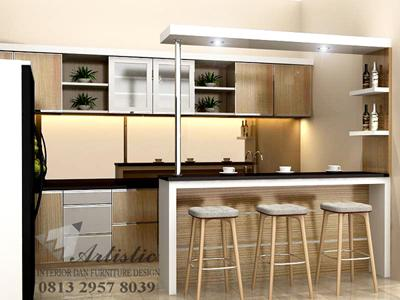 ARTISTIC Kitchen Set Mini bar Murah Jogja | Jasa Buat Kitchen Set Design Jogja |  Kitchen Set Minibar Sleman  |  Kitchen Set Minibar Bantul