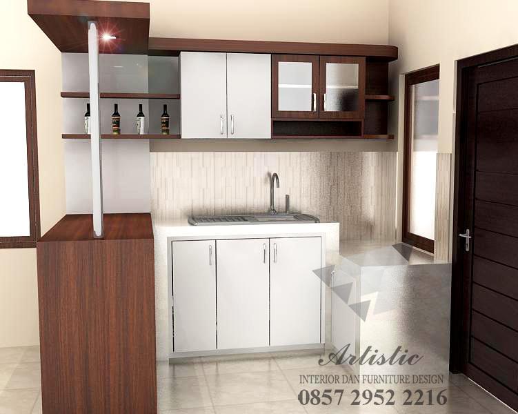 Kitchen Set Minimalis Modern Multiplek Hpl Pesanan Bu Asri Sleman