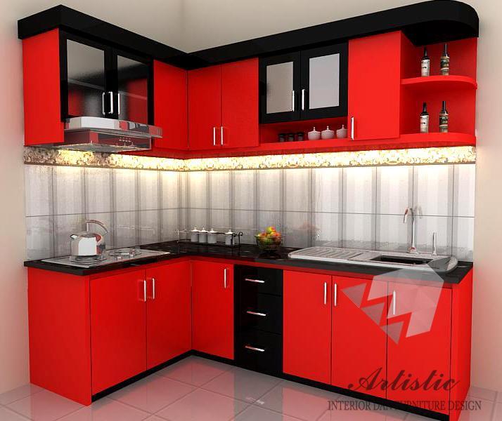 Pembuatan Kitchen Set Minimalis Murah Jogja Jasa Interior Jogja Jasa Interior Murah Jogja Artistic Interior Furnitur Design